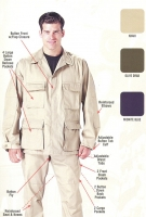 BDU-SHIRT-SOLID