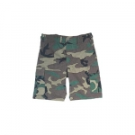 BDU-SHORTS-Woodland Camo