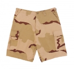 BDU-SHORTS-Tri-color Desert Camo
