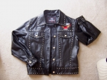 HARLEY LADIES STUDDED JACKET